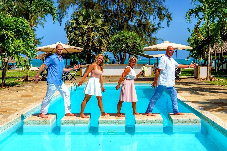 The Private Ocean Club - Galu 723 - Beach Wedding 10
