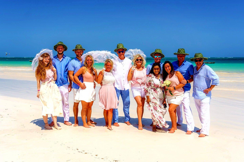 The Private Ocean Club - Galu 723 - Beach Wedding 9